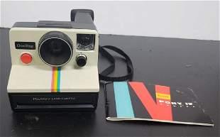 Vintage Polaroid Camera One Step