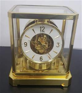 Vintage Atmos LeCoultre Perpetual Motion Mantle Cl