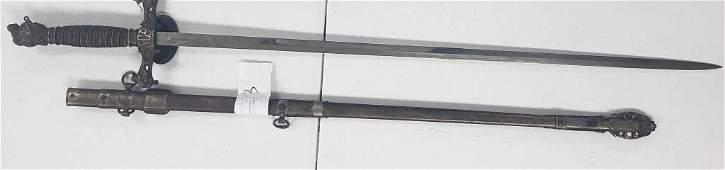 Antique Knights of Pythias FCB Fraternal Sword