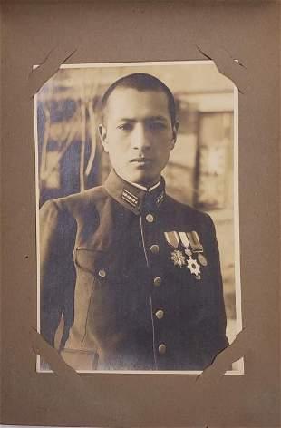 WWII Japanese Soldier Photo Album - 50 Photos