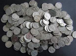 200-BUFFALO NICKELS FULL DATES