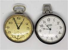 2-POCKET WATCHES ELM CITY & FIELD RANGER