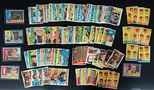 140-1960 TOPPS BASEBALL CARDS