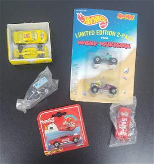(7) NEW in BOX DIE CAST CARS