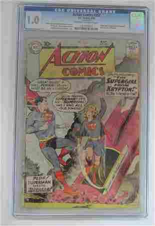 Action Comics #252 Origin & 1st Appearance Supergi