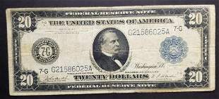 914 $20 FEDERAL RSV NOTE