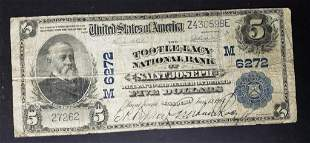 1918 $5 NATIONAL BANK NOTE