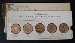 1969 Franklin Mint States of the Union