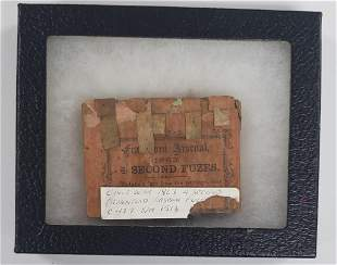Civil War 1863 4 Second Fuzes