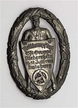 WWII German Wettkampftage 10-12 Juni 1938 Tinnie