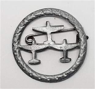 WWII German Luftwaffe Supporter Tinnie - 3 Plane