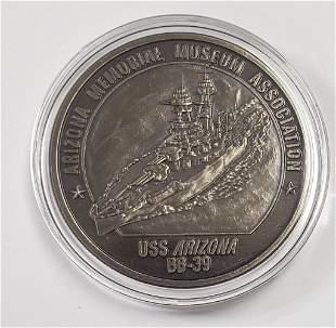 Official Pearl Harbor Commemorative Medallion