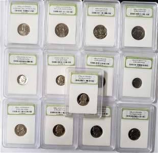 (11) DCAM PROOF U.S. COIN