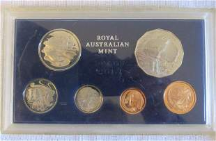1970 Royal Australian Mint Proof Set - Rare