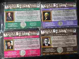 THREE CENTURIES of U.S. SILVER LOT