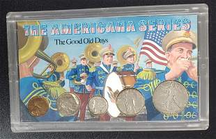 """The Americana Series """"The Good Old Days"""" Silver Se"""