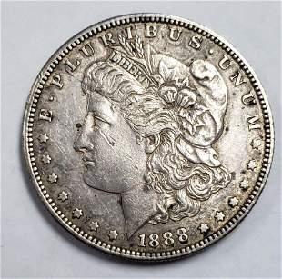 1888-S MORGAN SILVER DOLLAR