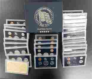 25 Years United States Coin Sets 1968-1992