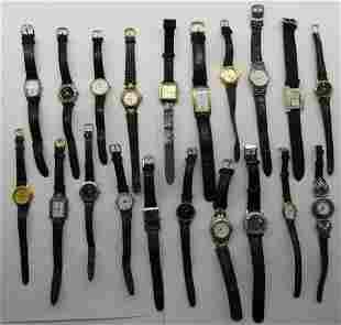 20 LADIES QUARTZ WATCHES-NOW,TIME