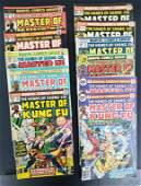 MASTER OF KUNG FU MARVEL COMICS 1974-1976