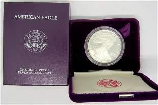 1987 PROOF AMERICAN SILVER EAGLE