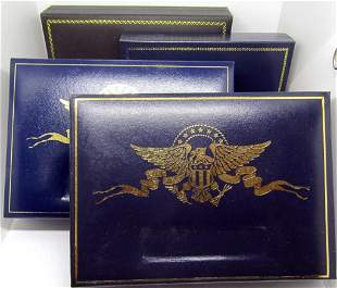 (4) U.S. COIN COLLECTIONS: 1800's 5pc COIN SET