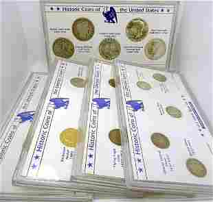 LITTLETON CO HISTORIC COINS of the U.S. LOT