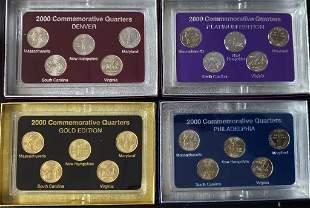 2000 FIFTY STATES COMMEMORATIVE (4)PC SET