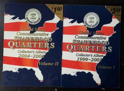 VOLUME I & II UNITED STATES COMMEMORATIVE