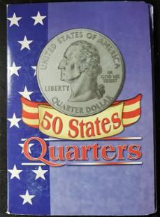 49-STATEHOOD QUARTERS IN DISPLAY BOOK