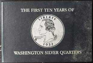 THE FIRST TEN YEARS OF WASHINGTON SILVER QTRS