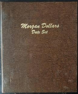 EMPTY MORGAN DOLLAR DATE SET DANSCO ALBUM