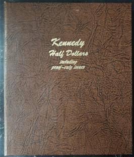 EMPTY KENNEDY HALF DOLLAR DANSCO ALBUM