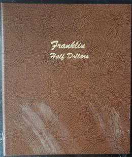 EMPTY FRANKLIN HALF DOLLAR DANSCO ALBUM