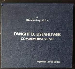 1969 DANBURY MINT DWIGHT D EISENHOWER COMMEM