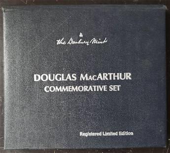 DANBURY MINT DOUGLAS MACARTHUR COMMEM