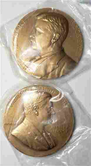 2-3 INCH PRESIDENTIAL INAGURATION MEDALS