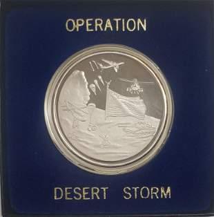 .999 SILVER OPERATION DESERT STORM