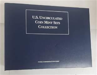 POSTAL COMMEM SOCIETY U.S. UNC SETS