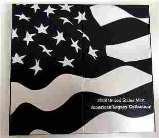 2008 U.S. AMREICAN LEGACY COLLECTION