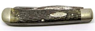 CASE XX 6254 STAG HANDLE 2 BLADE KNIFE