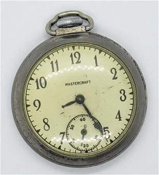 Vintage Mastercraft Pocket Watch