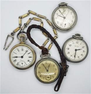 4 Running Westclox Pocket Watches - Scotty Pocket