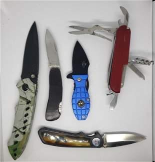 (5) CHINA MADE KNIFE LOT