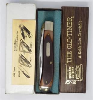SCHRADE THE OLD TIMER POCKET KNIFE