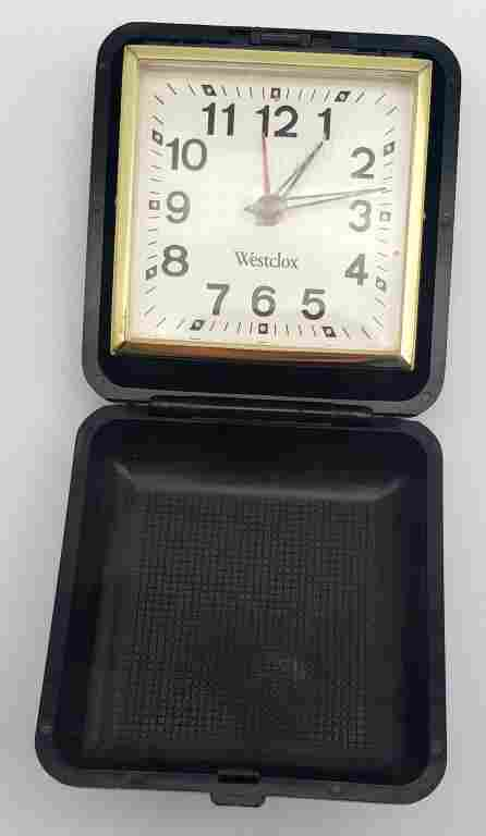 Vintage Westclox Travel Alarm Clock!