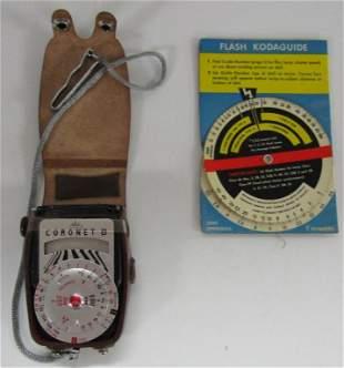 Vtg Walz Coronet B Exposure Light Meter