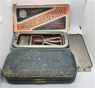 Antique Rolls Razor Imperial No. 2 Razor W/Travel