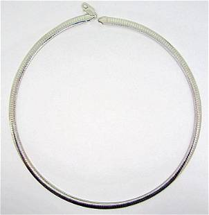 LOOKS NEW! MILOR ITALY STERLING CACOON STYLE
