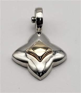Sterling Silver 14k ESPO JOseph Esposito Pendant